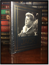 Remembering Jack John F. Kennedy JFK New Sealed Easton Press Leather Bound