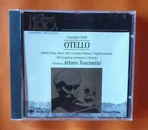 CD LA GRANDE LIRICA VERDI OTELLO TOSCANINI NBC Symphony Orchestra & Choruses