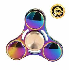 Plating Colorful Fidget Tri Hand Spinner EDC Zinc Alloy Ceramic Ceramic Toy Gift