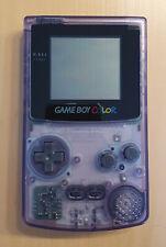 Nintendo Game Boy Color Handheld-Spielkonsole - Klar