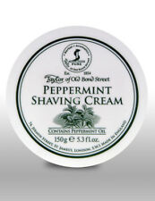 Taylor Of Old Bond Street Luxury Peppermint Mens Shave Shaving Cream 150g Bowl