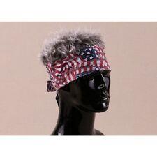 FLAIR HAIR HATS WITH HAIR USA BANDANA GREY HAIR QUALITY SURF SKATE PARTY FUN WIG