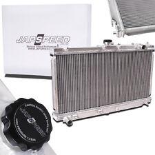 JAPSPEED 42MM ALUMINIUM ALLOY TWIN CORE RACE RADIATOR FOR MX5 MK2 MK2.5 1.6 1.8
