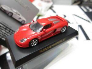 Kyosho - Porsche MiniCar Collection 4 - CARRERA GT - RED Scale 1/64 Mini Car A9