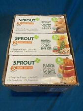 18 Sprout Organic Stage 3 Diff Flavors Baby Food Pouches Veg Variety 4 Ounce Ea