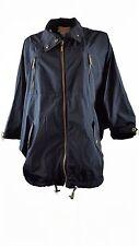 Windbreaker Polyester Plus Solid Coats & Jackets for Women