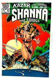 Ka-Zar The Savage #22 (1983) Marvel Comics