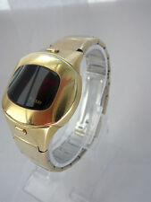 1970s pulsar LED p4 time equipo flickwrist, bueno, 14k Gold filled