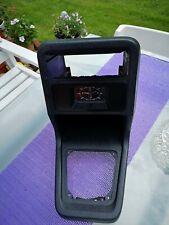 Ford fiesta mk1 centre console with Quartz clock. In very good condition