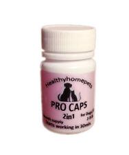 6x Pro Caps 2in1 Flea Control and Killer Dogs /Cats 2-15lb prevention kills eggs
