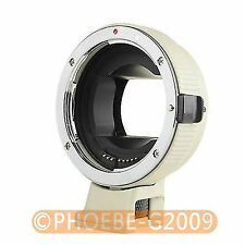 Electronic Auto Focus Adapter Canon EOS EF-S Lens to Sony NEX A7R White Version