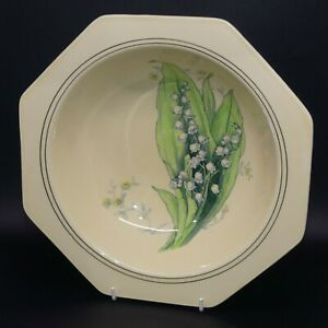 scarce Royal Doulton seriesware Lily of the Valley bowl D5801