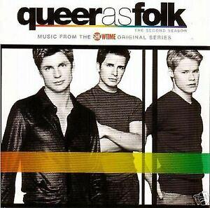 Queer As Folk: Second Season - 2002-TV Series-Original Soundtrack CD VGC