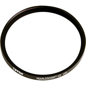 Tiffen 49mm Pearlescent 1/2 Filter White Halation Diffusion Filters 49PEARL12