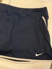 Nike Women's XL Black Power Dri Fit Tennis Golf Skirt Skort 598572