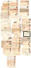 Lot Belege & Karten & Briefstücke DR bis 1920 - 59 Stück