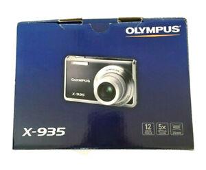 olympus FE-5020 X-935 digital camera blue 12MP 5X optical zoom 24mm wide new