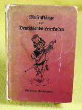 Musenklänge aus Deutschlands Leierkasten - Eulenspiegel Verlag - Holzschnitte