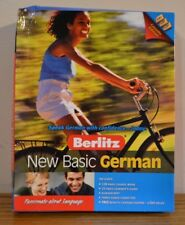 "Learn To Speak ""New Basic German"" by Berlitz with Audio Cassette tapes BN"