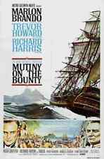 Mutiny on the Bounty 1962 02 Film A3 Poster Print