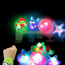 New Cartoon Flash LED Light Glow Bracelet Kids Costumes Toy Birthday Xmas Gift