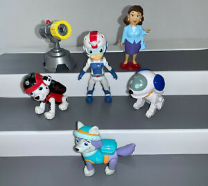 PAW PATROL ROBO DOG AIR RESCUE RYDER MAYOR GOODWAY EVEREST MARSHALL FIGURES