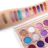 12-Color Eye Shadow Palette Matte Glitter Makeup Shimmer Eyeshadow Cosmetic Kit