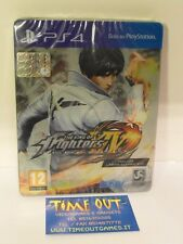 THE KING OF FIGHTERS KOF XIV STEELBOX EDITION SONY PS4 NUOVO SIGILLATO