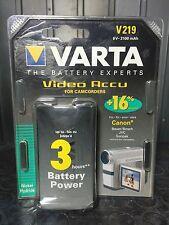 Batteria Ricaricabile VARTA V219 Canon Bauer Bosch Jvc Sunpack 6 V 2100 mAh