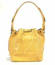 100% authentic Louis Vuitton Epi Puchinoe M44109 shoulder bag yellow Use 30-1-a