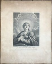 Gravure XVIIIe, Domenico Fetti, Recueil Crozat, Etching Incisione Radierung 17th