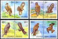 Taiwan 1998 , Birds of Prey, Stamp set MNH