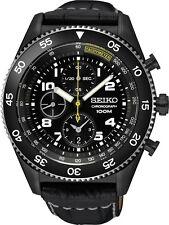 Seiko SNDG61 SNDG61P1 Mens Watch Chronograph Tachymeter NEW RRP $495.00