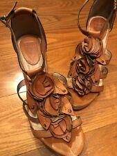 Frye Janna  Flower Heels size 9