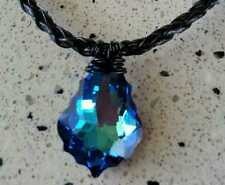 H20 JUST ADD WATER NECKLACE MERMAID ( BELLA) REAL CRYSTAL XMAS SPECIAL