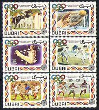 Dubai 1972 SPORT/OLIMPIADI/Cavalli/Scherma 6v Set n30021