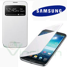 Custodia originale Samsung per Galaxy Mega 6.3 i9200 S-View cover BIANCA booklet