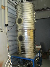 """Terronova Varian Turbo V-60 Vacuum Furnace 10−7 Vacuum X 450C  54""""T X 26""""D"""
