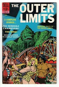 Dell The Outer Limits - No 12 - 1967 VERY SCARCE UK!! HIGH GRADE COPY!