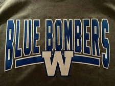 New Winnipeg Blue Bombers NWT Size Medium New Era Shirt Canadian Football CFL