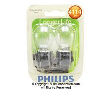 NEW Philips 4114 Automotive 2-Pack 4114LLB2 Bulb