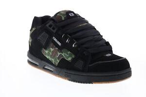 Globe Sabre GBSABR Mens Black Nubuck Skate Inspired Sneakers Shoes