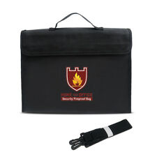 Fireproof Bag Money and Document Safe Resistant to 1100 Degrees 12 by 16 by 3""