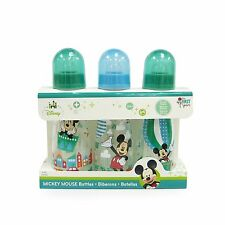 The First Years Disney Baby Mickey Mouse Slim Bottles 8 oz. 3 Pack