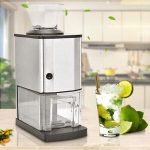Eiscrusher Ice Crusher Maschine elektrisch 15kg/h / 3,5L Kapazität Eiszerkleiner