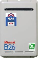 Rinnai Gas White Hot Water Systems