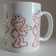 Sesame Street Elmo Coffee Mug Cup 10oz Jim Henson Productions Muppets