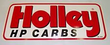 HOLLEY HP Carburettor, small sticker edelbrock tool box,man cave,beer fridge,car