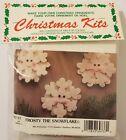Frosty the Snowflake Christmas Ornament Kids Craft Kit Merri Mac Enterprises VTG