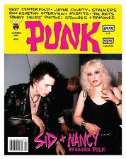 PUNK Magazine #20 Sid & Nancy Iggy Pop Ron Asheton Jayne County The Rats Misfits